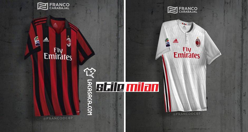 divisa AC Milan nuove
