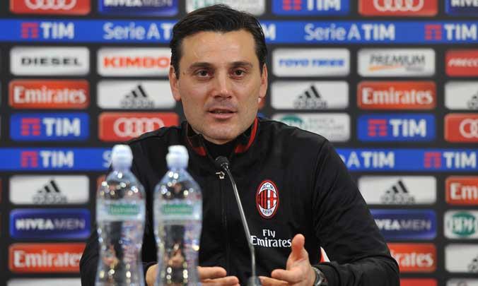 """Montella: """"Atalanta e Lazio sono più forti di noi. Io alla Roma? Ecco il mio futuro. Su Suso, Bacca e Romagnoli..."""""""