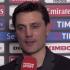 """Montella: """"La Juventus è noisa, vedremo di cambiare la situazione"""""""