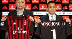 """Libero - """"Ecco perché Yonghong Li ha investito nel Milan, società di grandi potenzialità"""""""