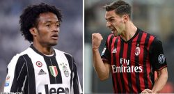 Possibile scambio De Sciglio-Cuadrado tra Milan e Juve, ma c'è un problema