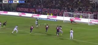 Gol di Kessié su rigore! Crotone-Milan 0-1! [VIDEO]