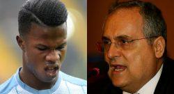 """Lotito: """"Il Milan mi ha offerto 35 milioni per Keita ma il suo procuratore..."""""""
