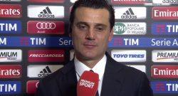 """Montella: """"André Silva mi ricorda uno che ha fatto la storia del Milan. I tifosi possono sognare"""""""