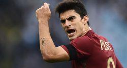 Milan-Roma, Perotti in dubbio per la sfida di San Siro
