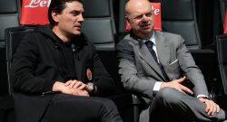 Sky - Fassone e Mirabelli hanno lasciato Milanello post confronto con Montella e squadra
