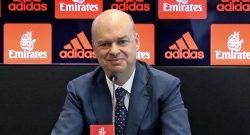 """Fassone: """"Vogliamo centrare la Champions e arrivare in fondo all'Europa League"""""""