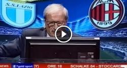 La Lazio umilia il Milan, Crudeli sotto shock: guardate cosa combina! [VIDEO]