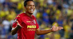 """Villarreal, Bacca: """"Ero nel peggior Milan della storia"""""""