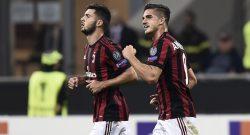 Milan, Montella lancia Suso e André Silva dall'inizio contro l'Inter: è la prima volta con il 3-5-2