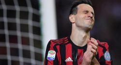 Milan, per Kalinic il derby si allontana. Il croato non recupera per l'Inter