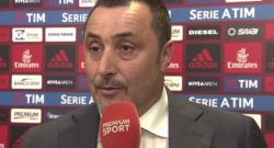 """Mirabelli: """"Montella? Abbiamo un buon allenatore, possiamo aprire un ciclo"""""""