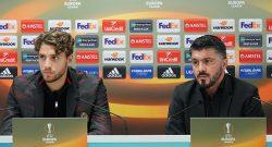 """MN - Gattuso su Locatelli: """"Mi ha fatto arrabbiare nel finale, lui e Kessie passeggiavano a fine partita"""""""