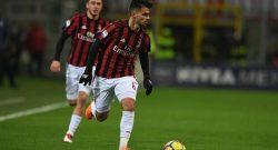Sky – Lesione muscolare per Suso: salta Milan-Fiorentina