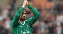 Donnarumma tra fischi e abbracci: è l'epilogo con il Milan?