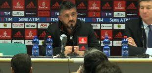 """Milan, l'appello di Gattuso ai tifosi: """"Domenica non fischiate Gigio e Kalinic"""""""