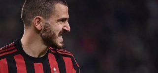 Milan-Bonucci, aria di saluti. Il PSG è dietro l'angolo