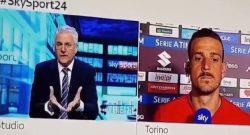 """""""Emozionato nel vedere Ronaldo in Serie A?"""", Florenzi risponde in tutta sincerità: """"Le cose che mi emozionano sono altre..."""" [VIDEO]"""