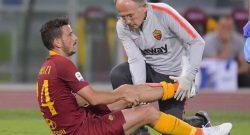 Trauma per Florenzi, dovrebbe comunque saltare il Milan