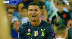 Cristiano Ronaldo espulso in Champions League: il portoghese scoppia in lacrime [VIDEO]