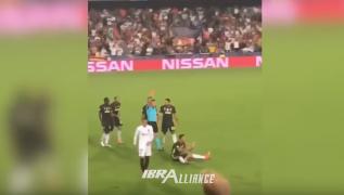 Ronaldo viene espulso in Valencia - Juve, ecco cosa è realmente accaduto in live dal Mestalla [VIDEO]