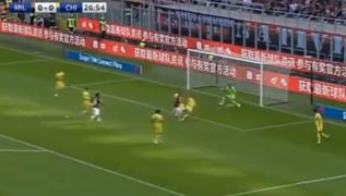 Gol di Gonzalo Higuain, rossoneri in vantaggio! Milan 1 Chievo Verona 0  [VIDEO]