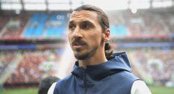 """Ibrahimovic sul futuro: """"Non ci penso, felice a Los Angeles"""""""