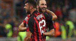 CorSera - Verso Milan-Samp: probabile passaggio al 4-4-2 con Cutrone e Higuain in attacco