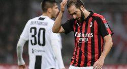 Milan-Juventus, Higuain espulso: tre giornate di squalifica?