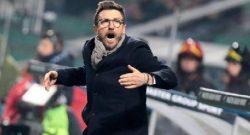 Sportmediaset - La Roma riflette sulla posizione di Di Francesco: individuati due possibili eredi
