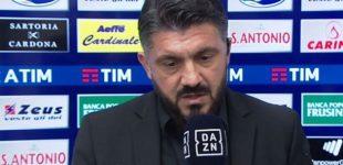 """Milan, Gattuso: """"Esonero? Succede agli altri e può succedere pure a me. Ma l'obiettivo…"""""""