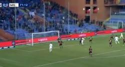 Gol di Fabio Borini, rossoneri in vantaggio! Genoa 0 Milan 1 [VIDEO]
