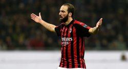 Milan, febbre per Higuain: in dubbio per la Supercoppa