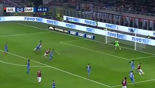 Sempre Piatek, rossoneri in vantaggio! Milan 1 Empoli 0 [VIDEO]