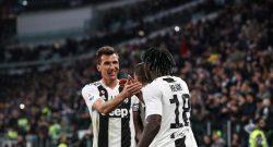 Juventus-Milan: Mandzukic può essere punito per il calcio a Romagnoli