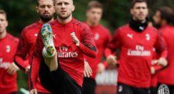 Genoa-Milan, possibile chance per Rebic: Piatek rischia