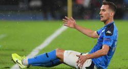 Polonia, Milik infortunato: presenza a rischio per Milan-Napoli